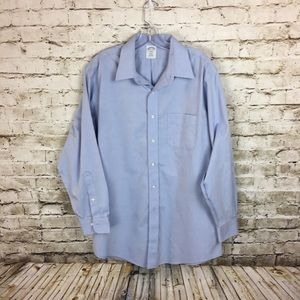 Brooks Brothers blue shirt